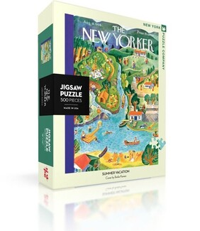 New York Puzzle Company Puzzle Summer Vacation - 500pce