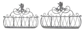 French Country Angel Low Planter