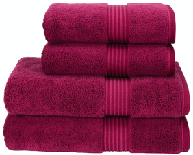 Christy Hygro Towel Collection - Raspberry