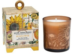 Michel Sunflower Soy Wax Candle