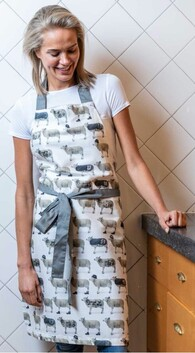 MM Linen Counting Sheep Apron
