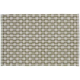 Eco Eden Ribbed Placemat - Sage