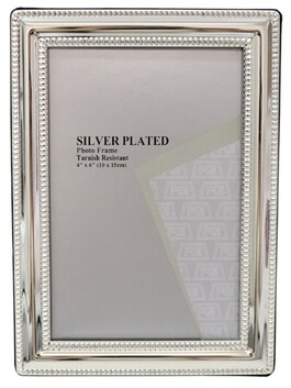 Le Forge Style 1 Photo Frame - Silver 15x10cm