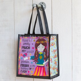 Natural Life Favourite Person Gift Bag - Large 32x13.5x35cmH