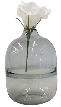 Le Forge Sienna Glass Vase Style 3 - Smoke