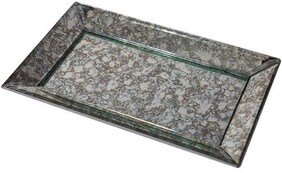 French Country Antique Mirror Tray Large