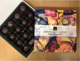 Seriously Good Chocolate Vintage Floral Chocolates - 16's