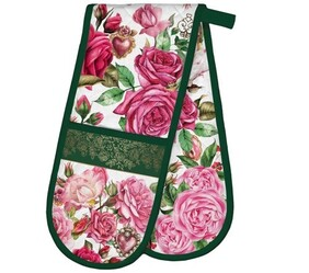 Michel Royal Rose Double Oven Gloves