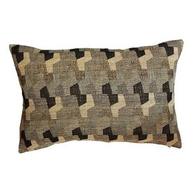 French Country Cushion Repetition Wool Silk