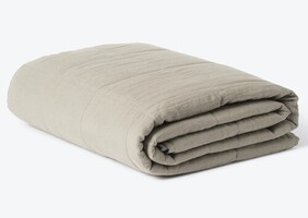 Citta Linen Quilted Blanket - Puddle Small 130x180cm