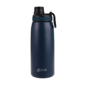 Oasis S/S Insulated Sports Bottle Navy - 780ml