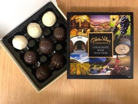 Seriously Good Chocolate Gibbston Valley Wine Infused Chocolates - 9's