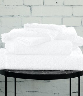 MM Linen Tusca Towel Collection - White