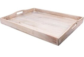 French Country Blanco Large Tray 61x46cm