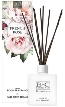 Banks & Co French Rose Room Diffuser - 150ml