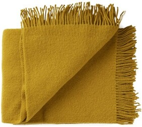 Weave Nevis Throw Chartreuse - 130x200cm
