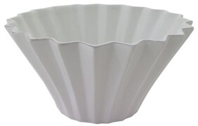 French Country Vienna Panelled Salad Bowl - Large