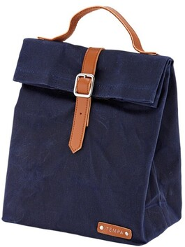 Tempa Buckle Insulated Lunch Bag - Navy