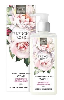 Banks & Co French Rose Wash - 300ml