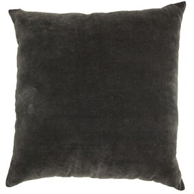 French Country Dual Cushion Charcoal - 50x50cm