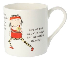 Rosie There's A Runner Inside All of US Mug