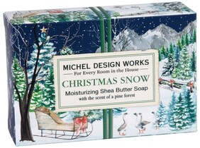Michel Christmas Snow Boxed Soap