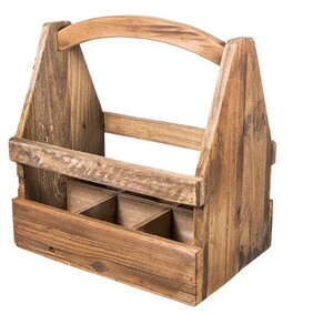 French Country Vintage Bottle Crate