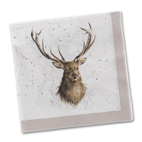 Wrendale Stag Cocktail Napkins