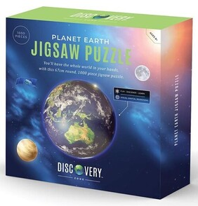 Discovery Zone Jigsaw Puzzle Earth