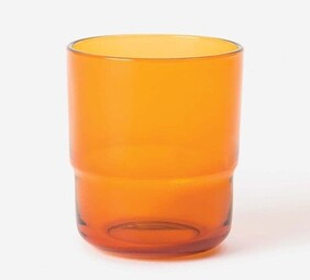 Citta Piccadilly Tumbler - Amber