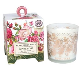 Michel Royal Rose Soy Candle - 184g