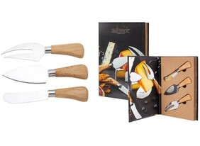 Tempa Fromagerie 3 pce Cheese Knife Set