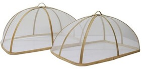 Le Forge Rectangle Food Cover - Natural