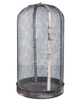 French Country Mesh Garden Dome Large