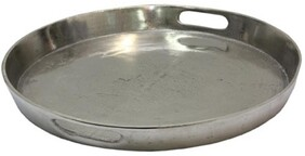 French Country Deep Round Tray Large