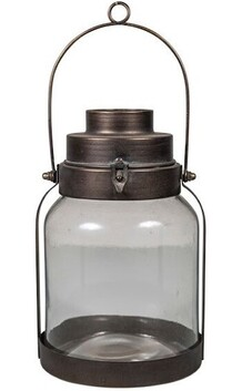 French Country Vern Cabin Lantern - Tall