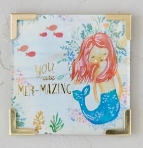 Natural Life You Are Mermazing Magnet 6.35x6.35cm