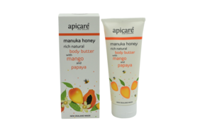 Apicare Body Butter with Mango and Papaya 200g