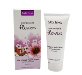 New Zealand Flowers Hand & Nail Crème 100ml