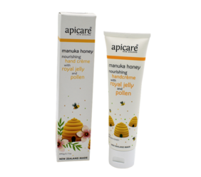 Apicare Manuka Honey Nourishing Hand Creme with Royal Jelly and Pollen 90g