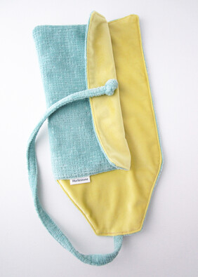 Chartreuse Open Top Pen Roll (6, 8 or 10 pens) - from NZ$71
