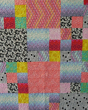 Rainbow Quilt (Free shipping)
