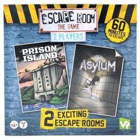 Escape Room the Game 2 Players - Prison Island and Asylum
