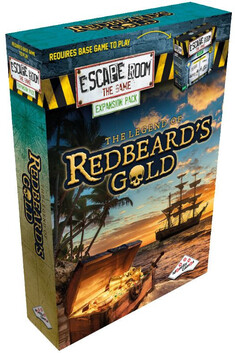 Escape Room the Game The Legend of Redbeards Gold (Expansion)