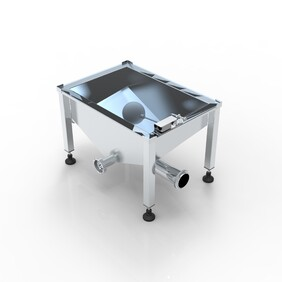Extractor collection sump