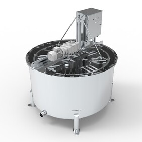 CrystechNZ honey extractor