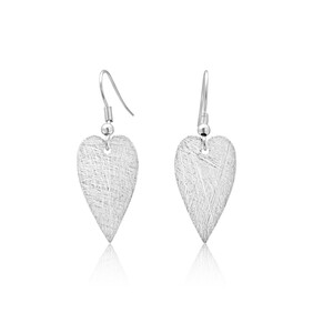 Amour Small Earrings - Silver