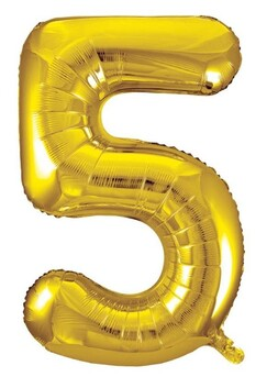 Giant Helium Number 5 - Gold