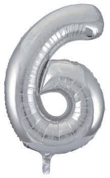 Giant Helium Number 6 - Silver