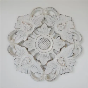 Carved Circle Flower
